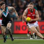 Essendon, Jake Stringer, Jasper Pittard, Port Adelaide