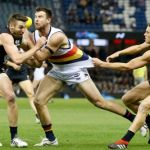 Adelaide Crows  Charlie Curnow, Andy Otten, Carlton, Dale Thomas