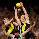 Collingwood, Jack Riewoldt, Josh Caddy, Richmond, Tyson Goldsack