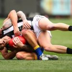 Collingwood, Jeremy Howe, Mark LeCras, West Coast Eagles