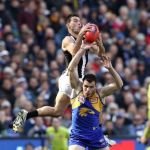 Collingwood, Levi Greenwood, Luke Shuey, West Coast Eagles