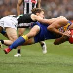 Collingwood, Nathan Vardy, Tom Langdon, West Coast Eagles