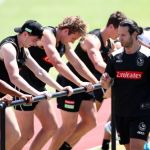 AFL 2018 Training - Collingwood 121218