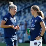 Geelong Cats, Melissa Hickey, Nina Morrison