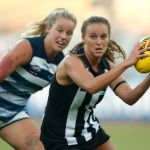 Collingwood, Geelong Cats, Jordan Ivey, Ruby Schleicher
