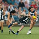Cassie Blakeway, Cecilia McIntosh, Collingwood, Geelong Cats