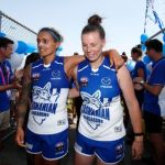 Brittany Gibson, Moana Hope, North Melbourne