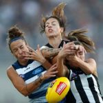 Collingwood, Geelong Cats, Mia-Rae Clifford, Sarah Dargan, Stephanie Chiocci