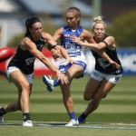 Alison Downie, Ashleigh Riddell, Carlton, North Melbourne, Sarah Hosking