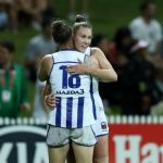 Brittany Gibson, North Melbourne, Tahlia Randall