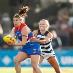 Geelong Cats, Kirsty Lamb, Renee Garing, Western Bulldogs
