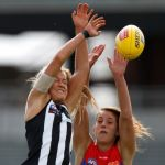 Collingwood, Lauren Pearce, Melbourne, Sarah Rowe