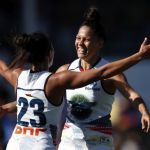 Adelaide Crows, Justine Mules, Stevie-Lee Thompson