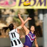 Collingwood, Eliza Hynes, Fremantle, Parris Laurie