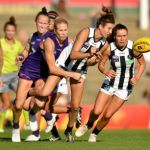 Collingwood, Dana Hooker, Fremantle, Stephanie Chiocci