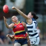 Adelaide Crows, Chloe Scheer, Geelong Cats, Meghan McDonald