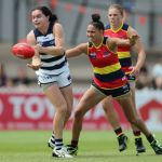 Adelaide Crows, Geelong Cats, Meghan McDonald, Stevie-Lee Thompson