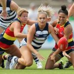Adelaide Crows, Courtney Cramey, Geelong Cats, Rebecca Webster, Stevie-Lee Thompson