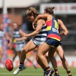 Adelaide Crows, Ebony Marinoff, Geelong Cats, Madeline Keryk