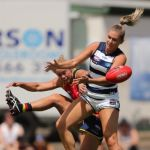 Adelaide Crows, Courtney Cramey, Geelong Cats, Rebecca Webster