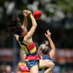 Adelaide Crows, Geelong Cats, Melissa Hickey, Sophie Li