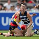 Adelaide Crows, Anna Teague, Eloise Jones, Geelong Cats
