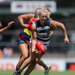 Adelaide Crows, Chelsea Randall, Courtney Cramey, Geelong Cats, Jordan Ivey