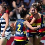 Adelaide Crows, Anna Teague, Deni Varnhagen, Eloise Jones, Geelong Cats, Sally Riley