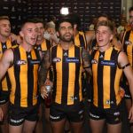 Chad Wingard, Dylan Moore, Tom Scully