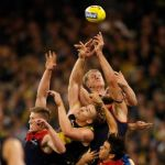 Josh Caddy, Marty Hore, Max Gawn, Sam Frost, Tom Lynch
