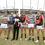 Billy Brownless, Gary Rohan, Joe Daniher, Kevin Sheedy, Tom Hawkins, Zach Merrett
