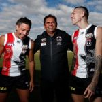 Ben Long, Matthew Parker, Nicky Winmar