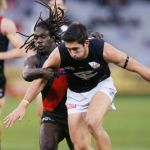 Anthony McDonald-Tipungwuti, Carlton Blues, Essendon Bombers, Jacob Weitering