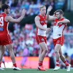 George Hewett, Isaac Heeney, Tom Papley