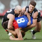 Brody Mihocek, Collingwood Magpies, Jake Lever, Melbourne, Steele Sidebottom