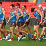 AFL 2019 Training - Gold Coast 080819