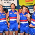 Bailey Smith, Josh Dunkley, Lachie Hunter, Patrick Lipinski, Sam Lloyd