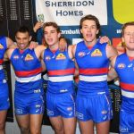 Bailey Smith, Lachie Hunter, Lewis Young, Patrick Lipinski, Sam Lloyd