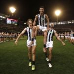 Chris Mayne, Scott Pendlebury, Steele Sidebottom