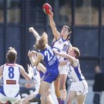 of the Chargers spoils the ball during the NAB Lea