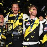 AFL 2019 Media - Richmond Post Match Celebrations