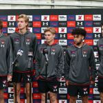 Harrison Jones, Lachlan Johnson and Mitch Hibberd, Ned Cahill, Nick Bryan