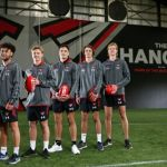 Harrison Jones and Nick Bryan, Lachlan Johnson, Mitch Hibberd, Ned Cahill