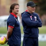 Luke Beveridge, Nathan Burke