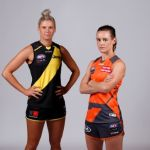 Alicia Eva, GWS Giants, Katie Brennan, Richmond