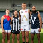 All-Stars, Bachar Houli, Brittany Bonnici, Demons, Maddison Gay, Magpies, Patrick Cripps, Victoria