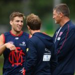 Jack Viney, Mark Visser, Trevor Hendy