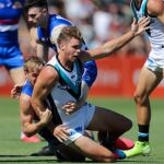 AFL 2020 Marsh Community Series - Port Adelaide v Western Bulldogs