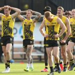 AFL 2020 Training - Richmond 280520