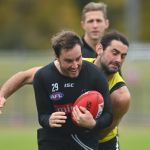 Brodie Grundy, Tim Broomhead